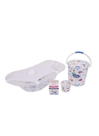 Sevi Bebe Şeffaf Desenli Bebek Banyo Setı-Sevi Bebe